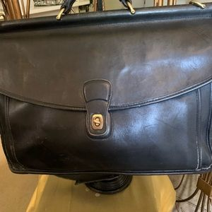 Coach Laptop/Briefcase